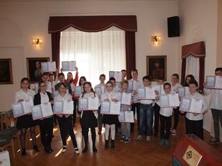 A Horváth Mihály Tehetséggondozó és Múzeumbarát Történelmi Vetélkedő eredményei