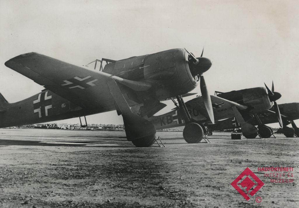 Német Fw 190 vadászrepülőgépek a keleti hadszíntéren 1942-ben