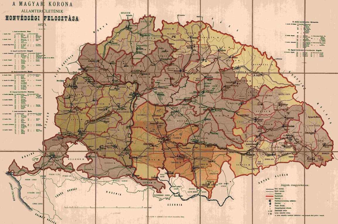 magyarország térkép 1800 as évek Hadtörténeti Intézet és Múzeum magyarország térkép 1800 as évek
